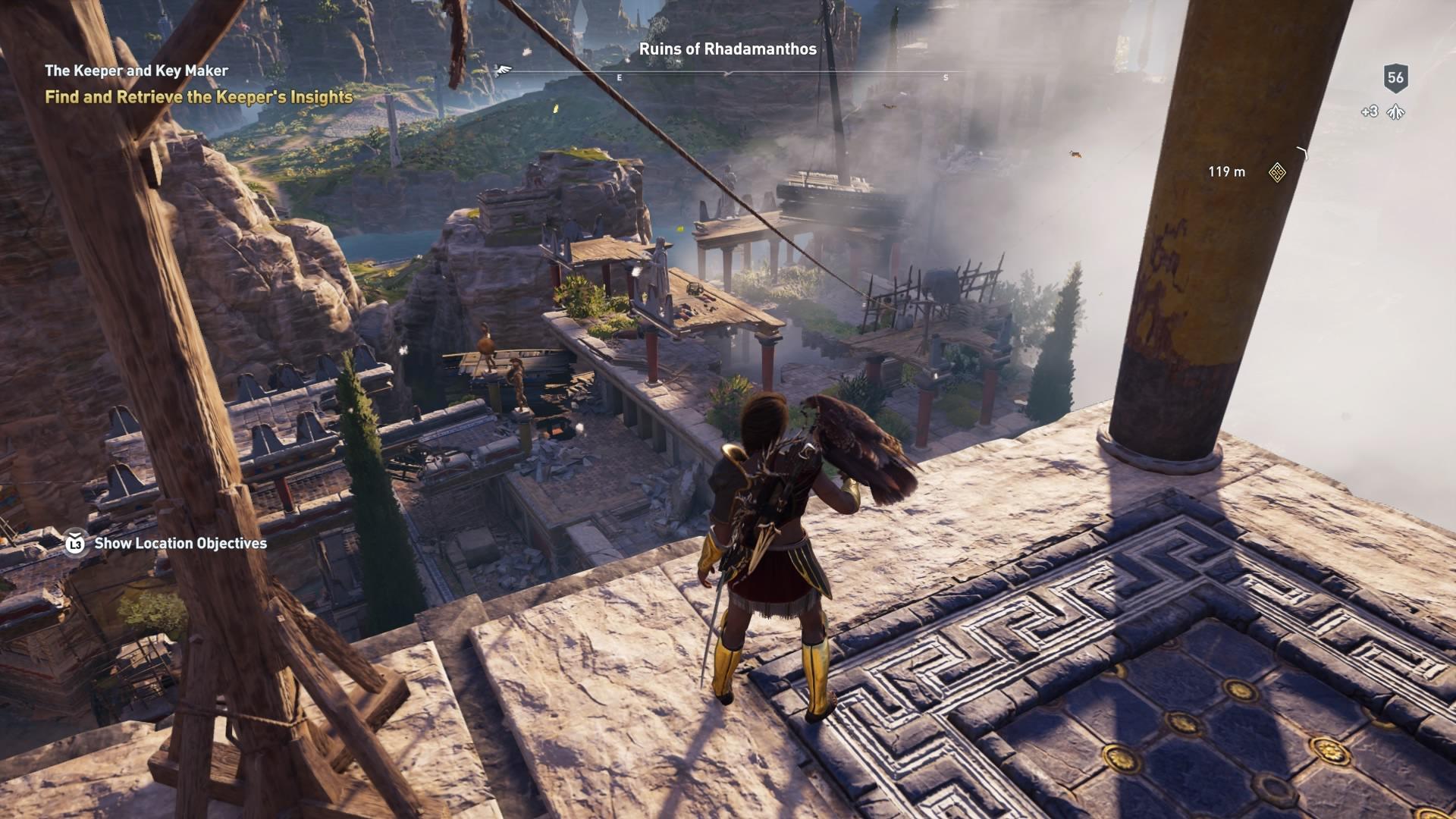 Assassins Creed Odyssey: guía de información del guardián: dónde encontrar todas las percepciones de Hermes 29