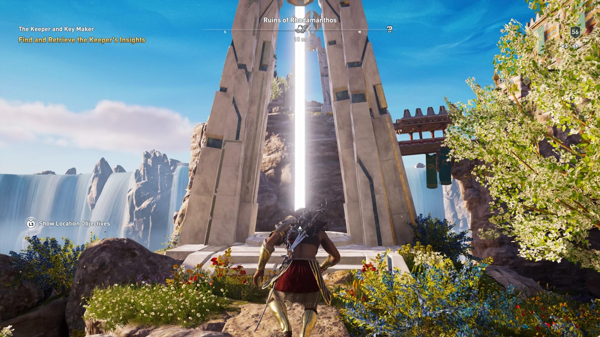 Assassins Creed Odyssey: guía de información del guardián: dónde encontrar todas las percepciones de Hermes 32