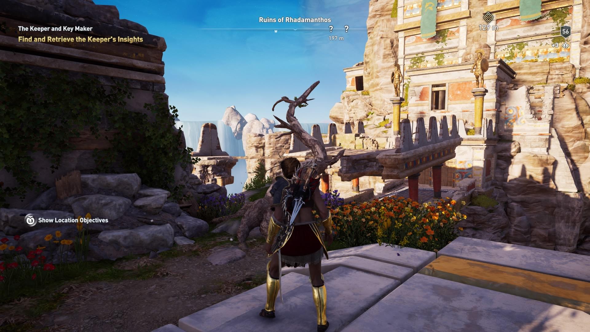 Assassins Creed Odyssey: guía de información del guardián: dónde encontrar todas las percepciones de Hermes 33