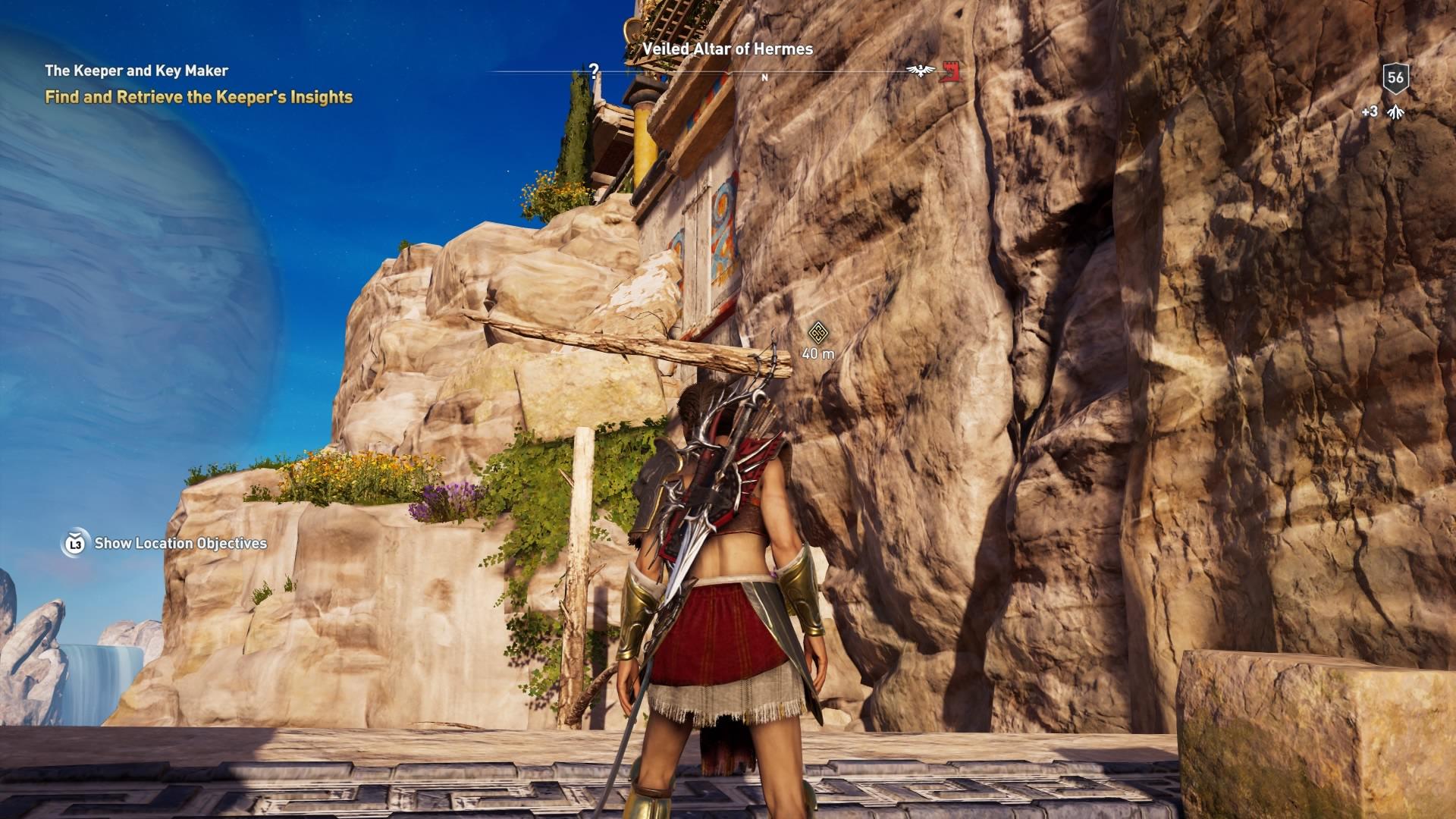 Assassins Creed Odyssey: guía de información del guardián: dónde encontrar todas las percepciones de Hermes 34