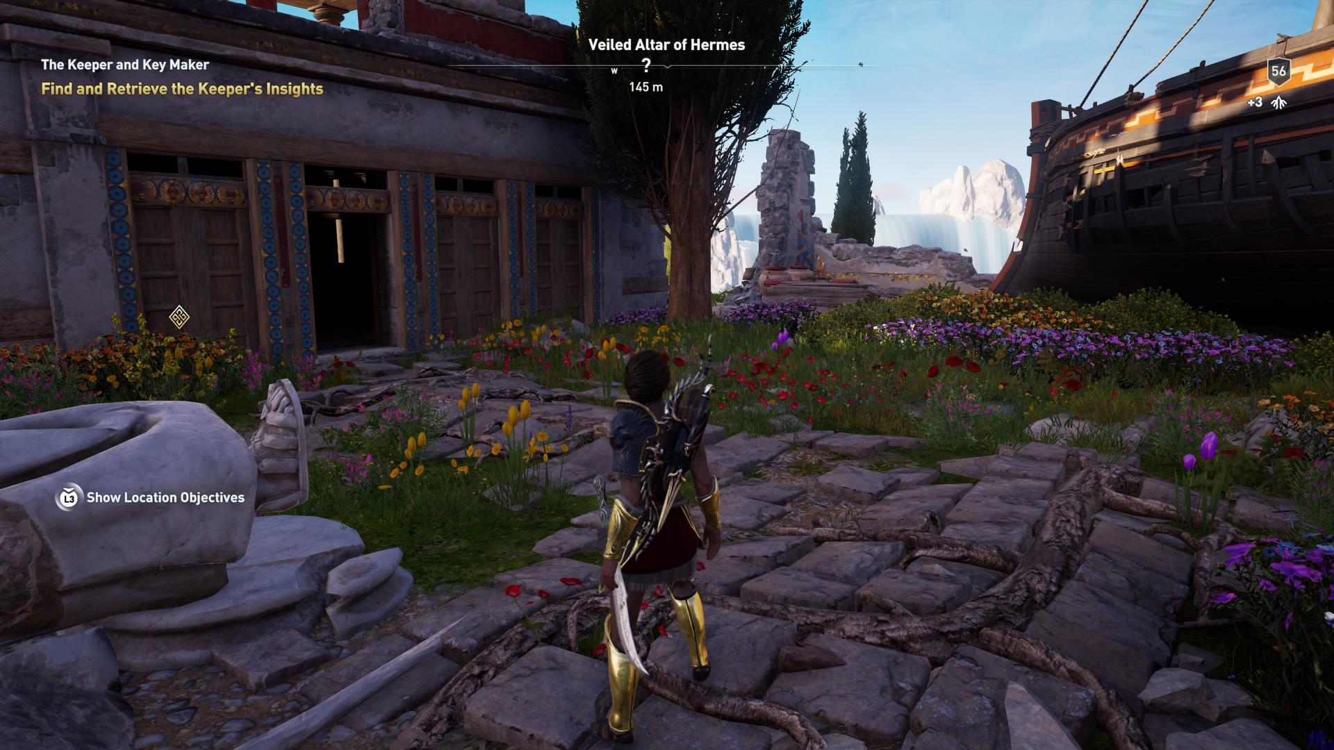 Assassins Creed Odyssey: guía de información del guardián: dónde encontrar todas las percepciones de Hermes 35
