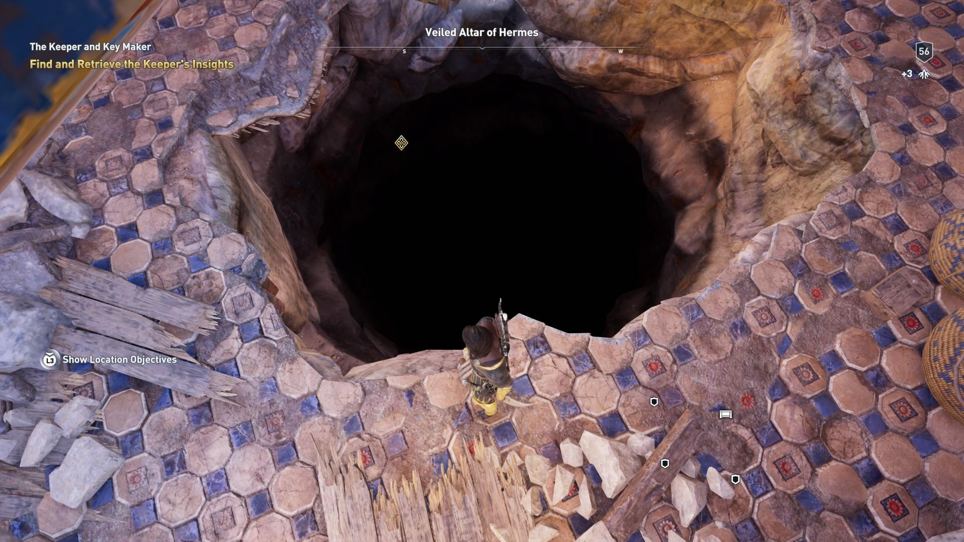 Assassins Creed Odyssey: guía de información del guardián: dónde encontrar todas las percepciones de Hermes 36
