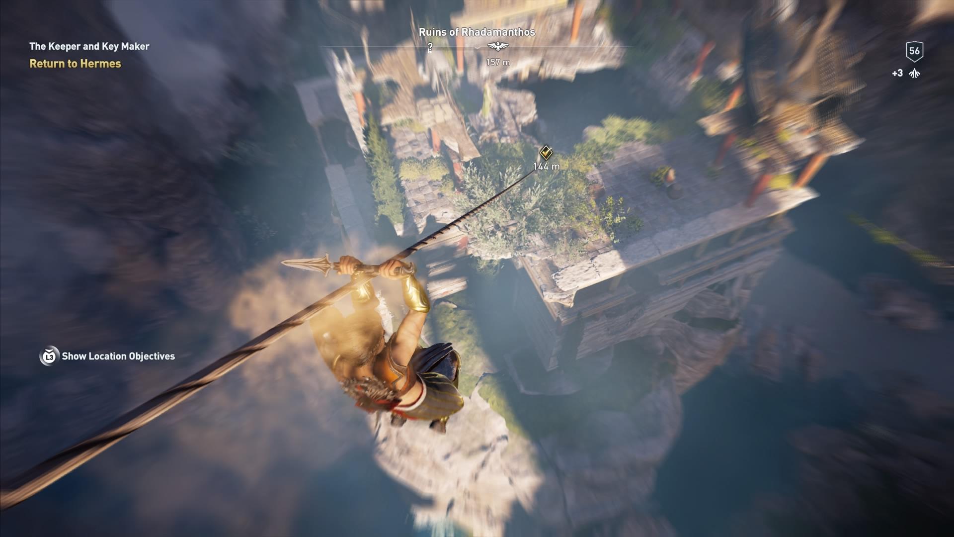 Assassins Creed Odyssey: guía de información del guardián: dónde encontrar todas las percepciones de Hermes 37