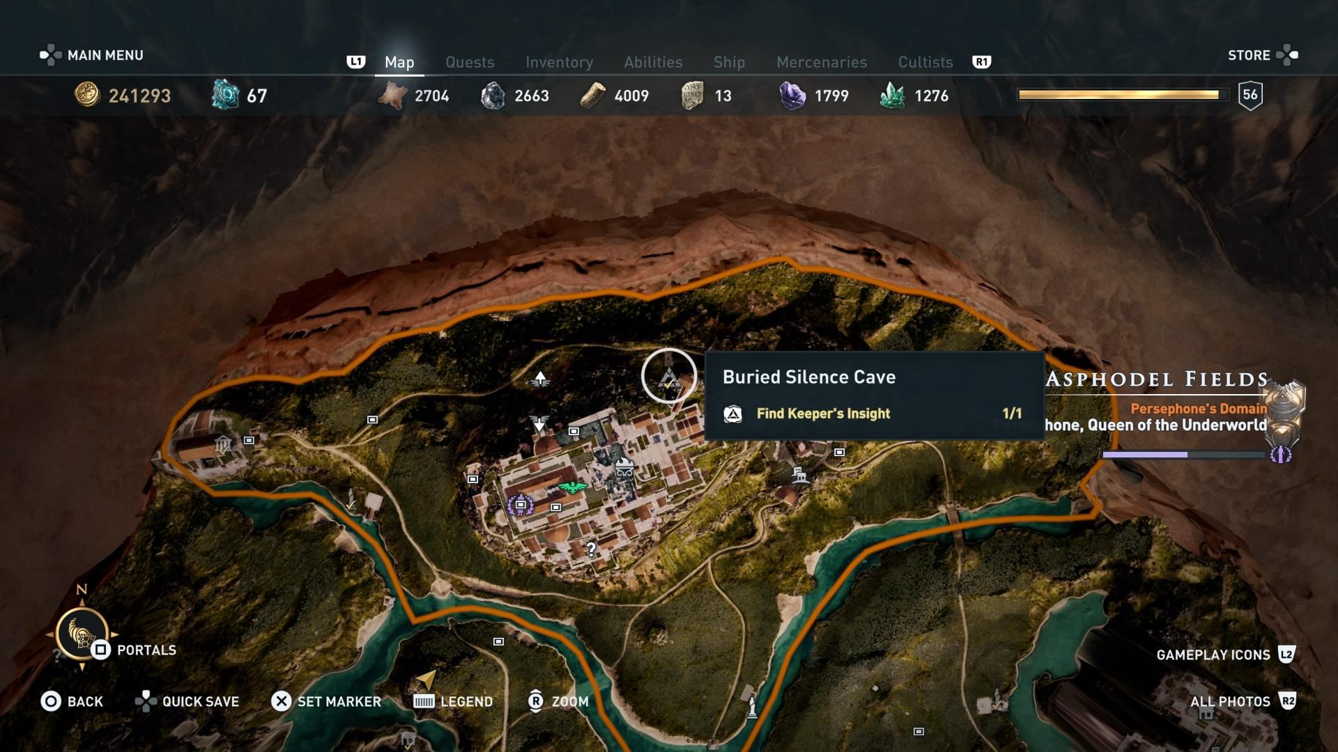 Assassins Creed Odyssey: guía de información del guardián: dónde encontrar todas las percepciones de Hermes 23