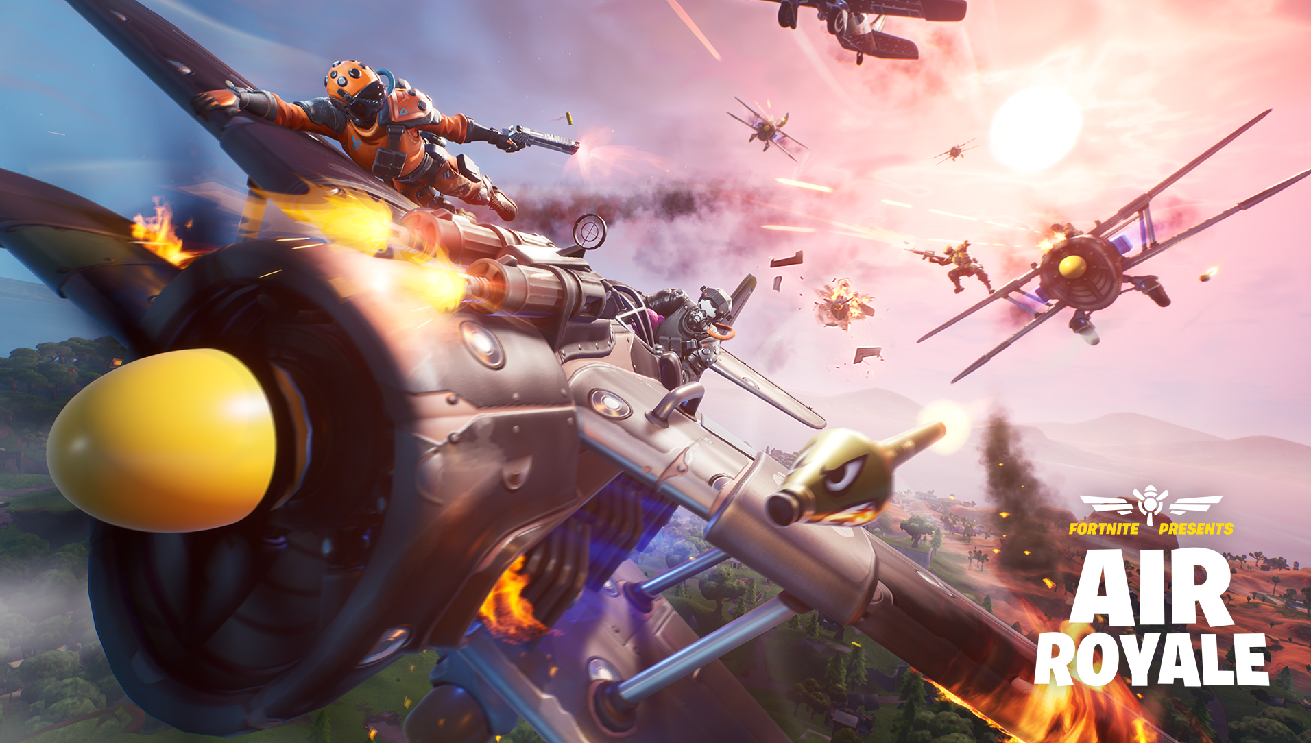 Fortnite V8 40 Update Adds Air Royale Ltm Epic And Legendary