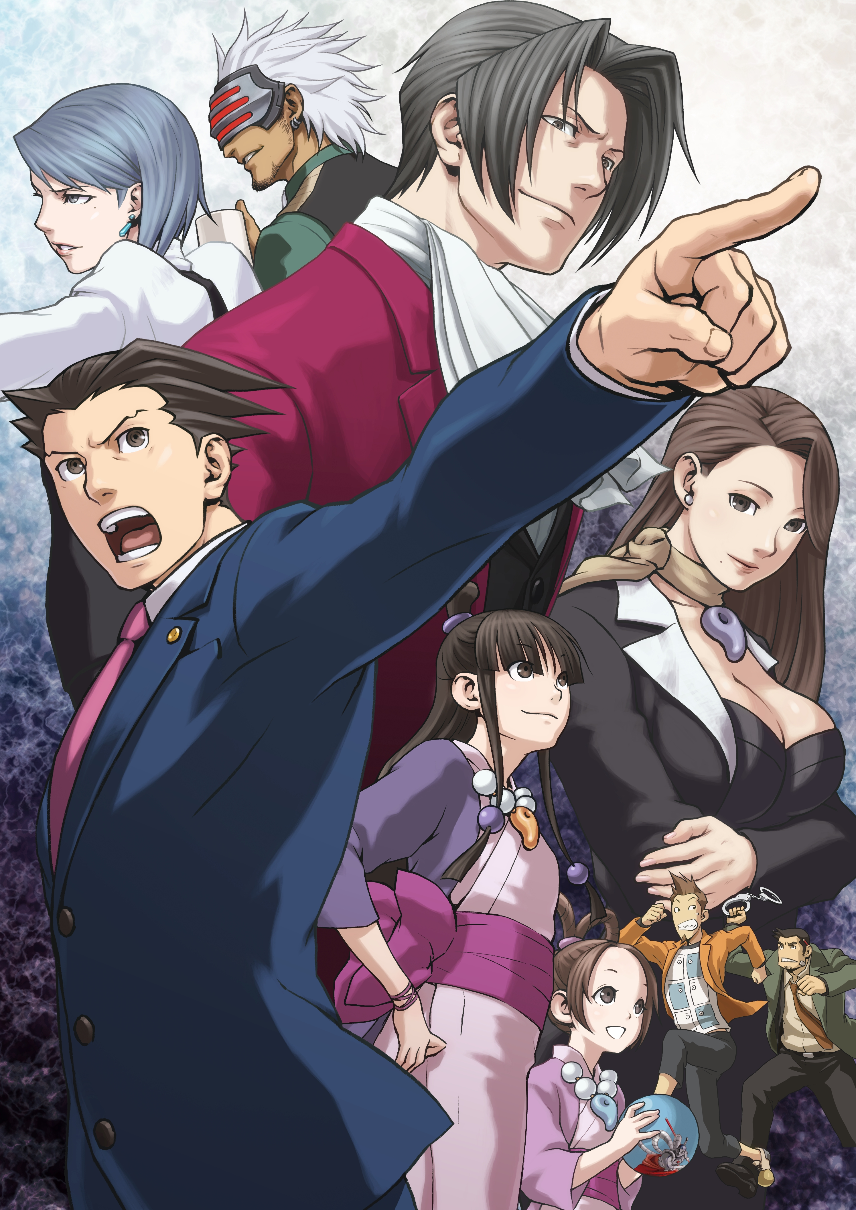 Phoenix Wright Ace Attorney Trilogy Is A Re Release Worthy Of A True Genre Classic Vg247