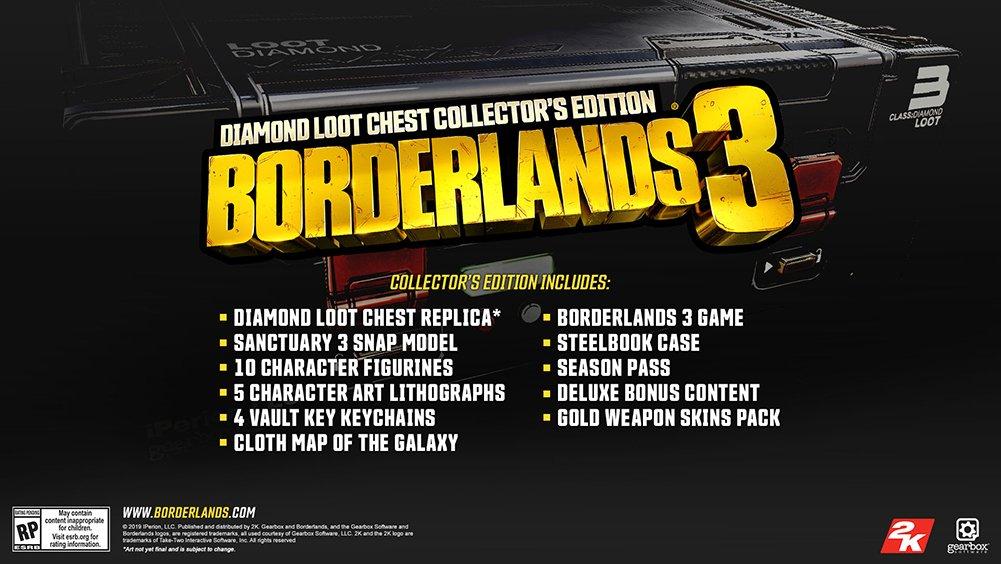 Resultado de imagen de Borderlands 3  super deluxe