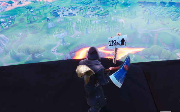 Fortnite Visit The Five Highest Elevations On The Island Vg247