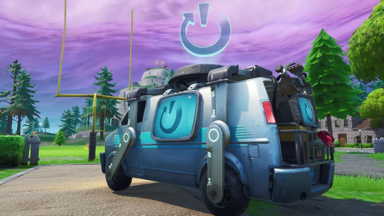 Fornite's Reboot Vans are rolling our next week in update v8.30