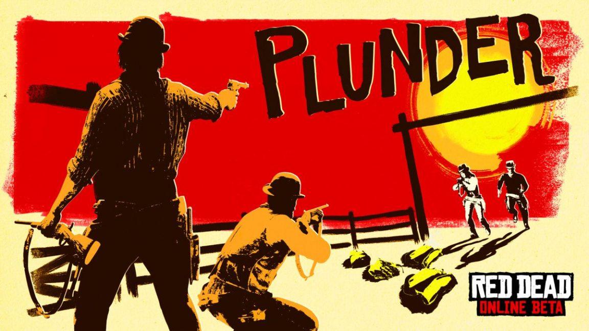 """Новый режим в Red Dead Online под названием """"Plunder"""""""