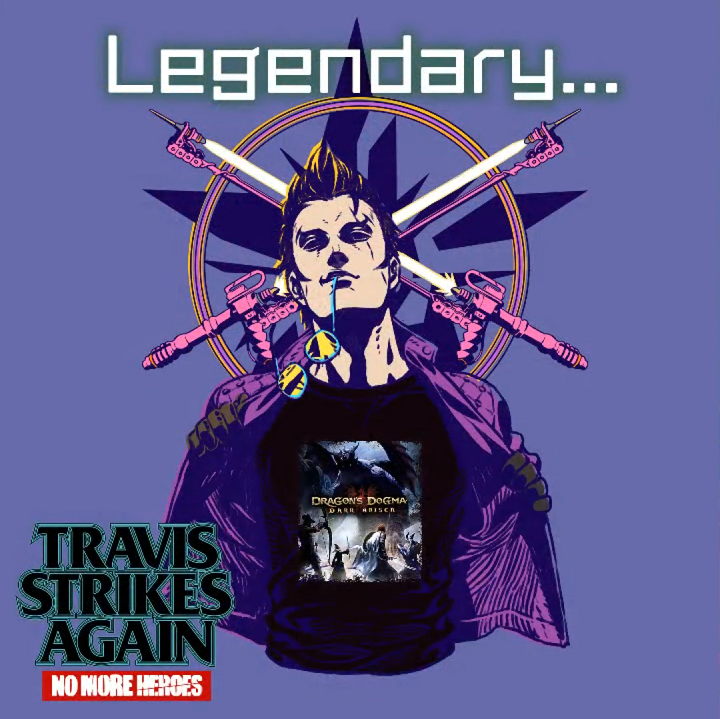 Dragon's Dogma gets a Travis pawn in Travis Strikes Again crossover