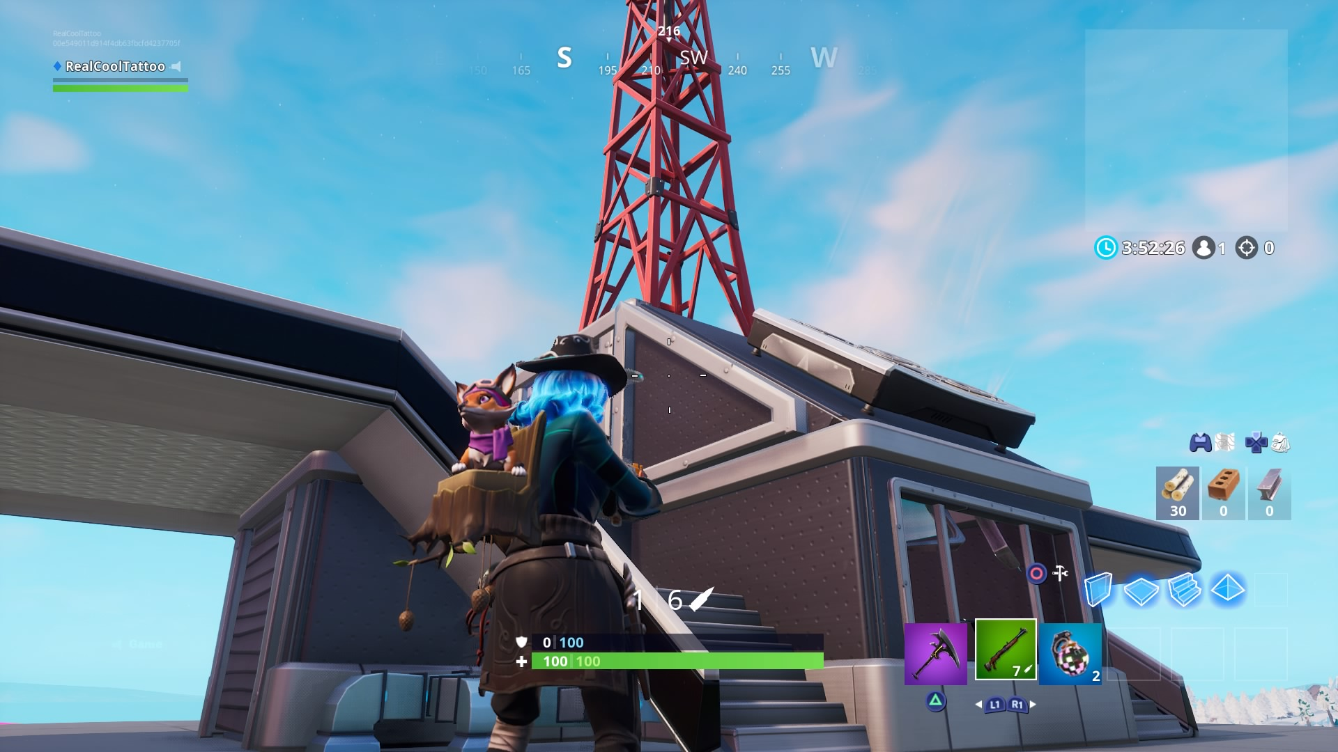 , Fortnite: Visit Sky Platforms – Locations map