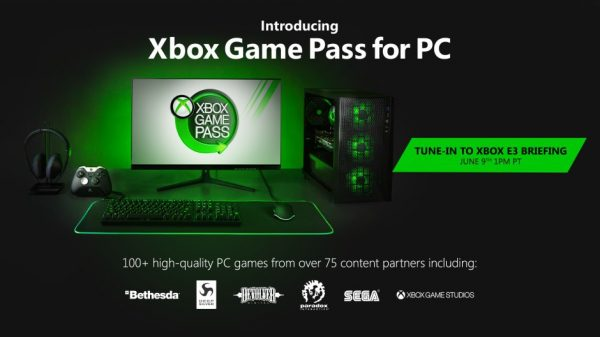 Microsoft's Xbox Game Pass is heading to the PC