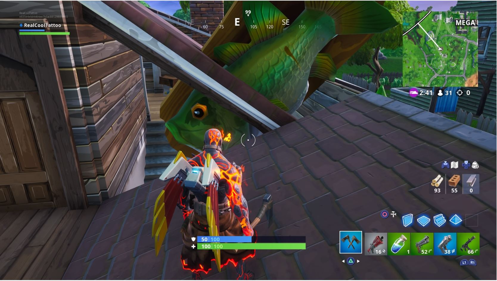 , Fortnite: Visit an Oversized Phone, Giant Piano, and a Dancing Fish
