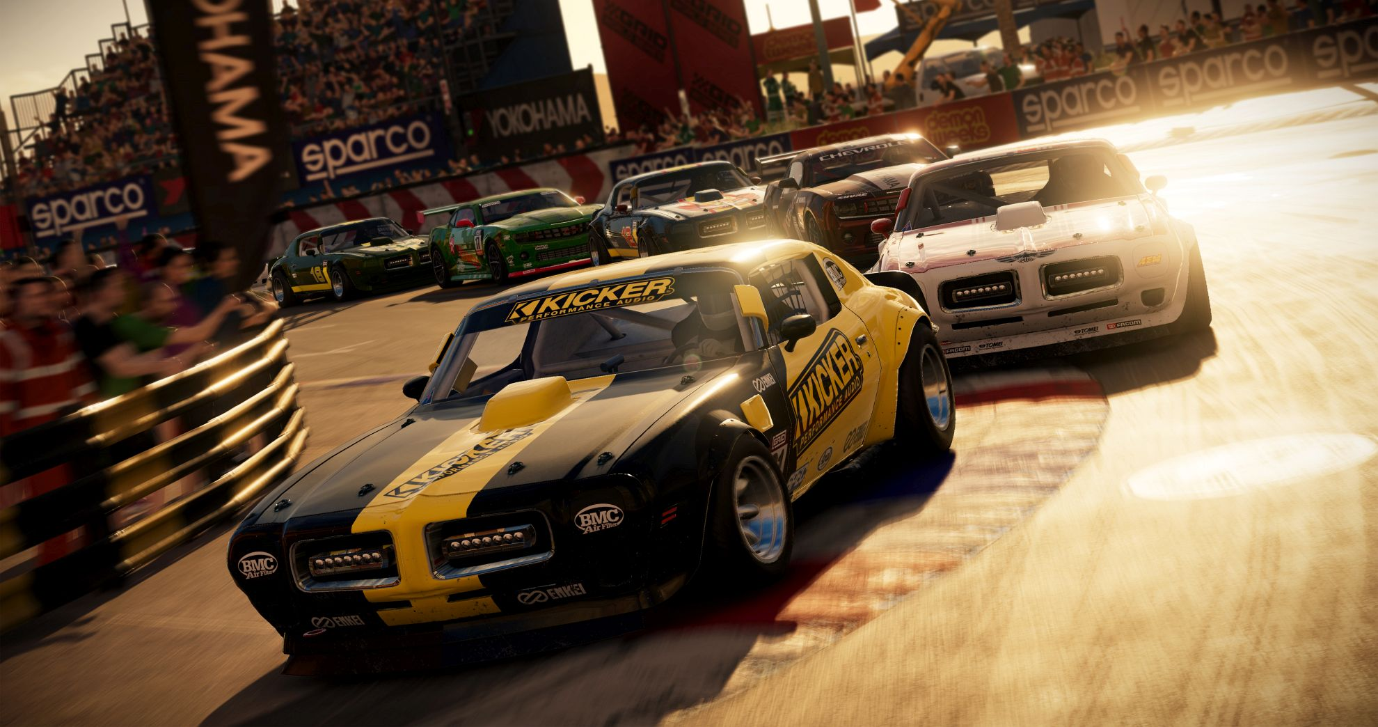 New Grid gameplay trailer shows off some hot racing action