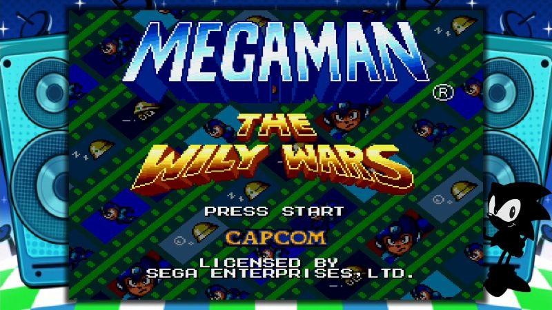 Sega Genesis Mini Wily Wars