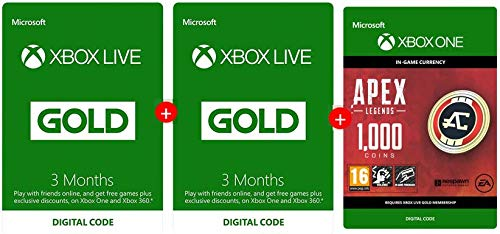 Xbox Live Gold deal gets you a six-month sub and 1000 Apex