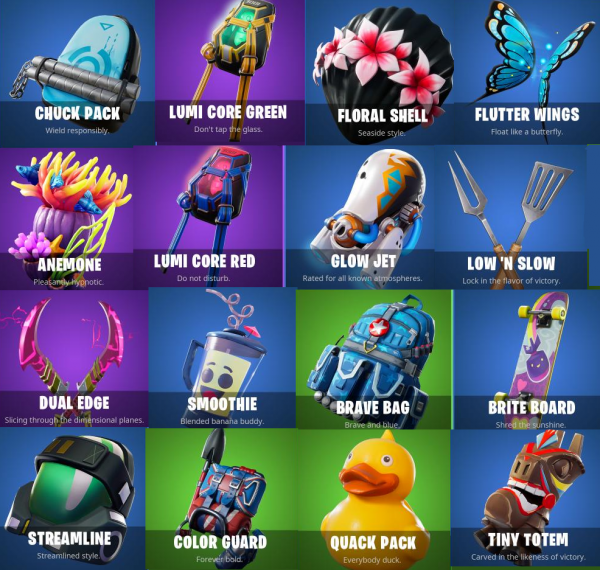 Massive Fortnite leak reveals 75 new items, Heist skin and