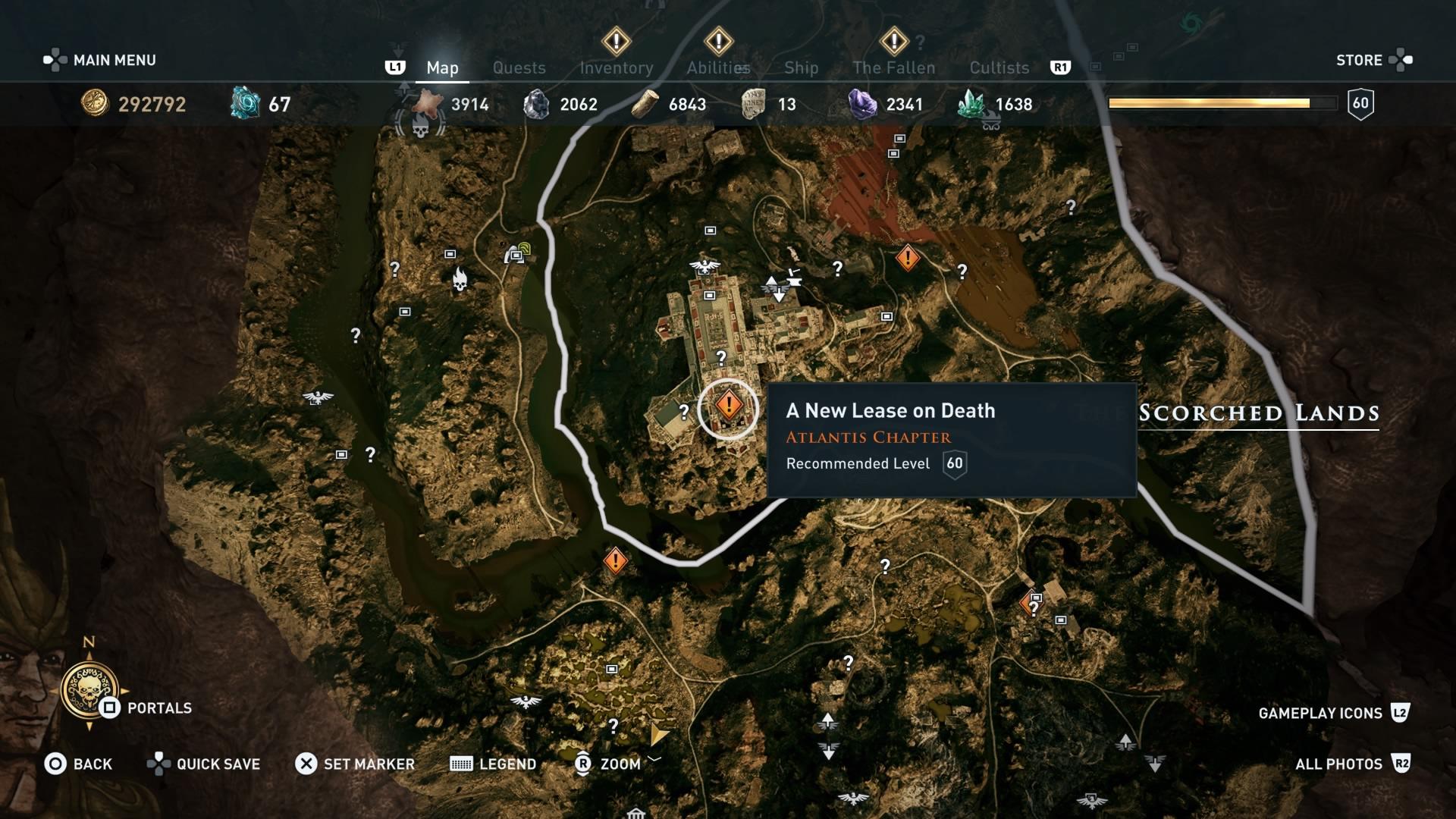 Assassins Creed Odyssey: guía de información del guardián: dónde encontrar todas las percepciones de Hermes 4