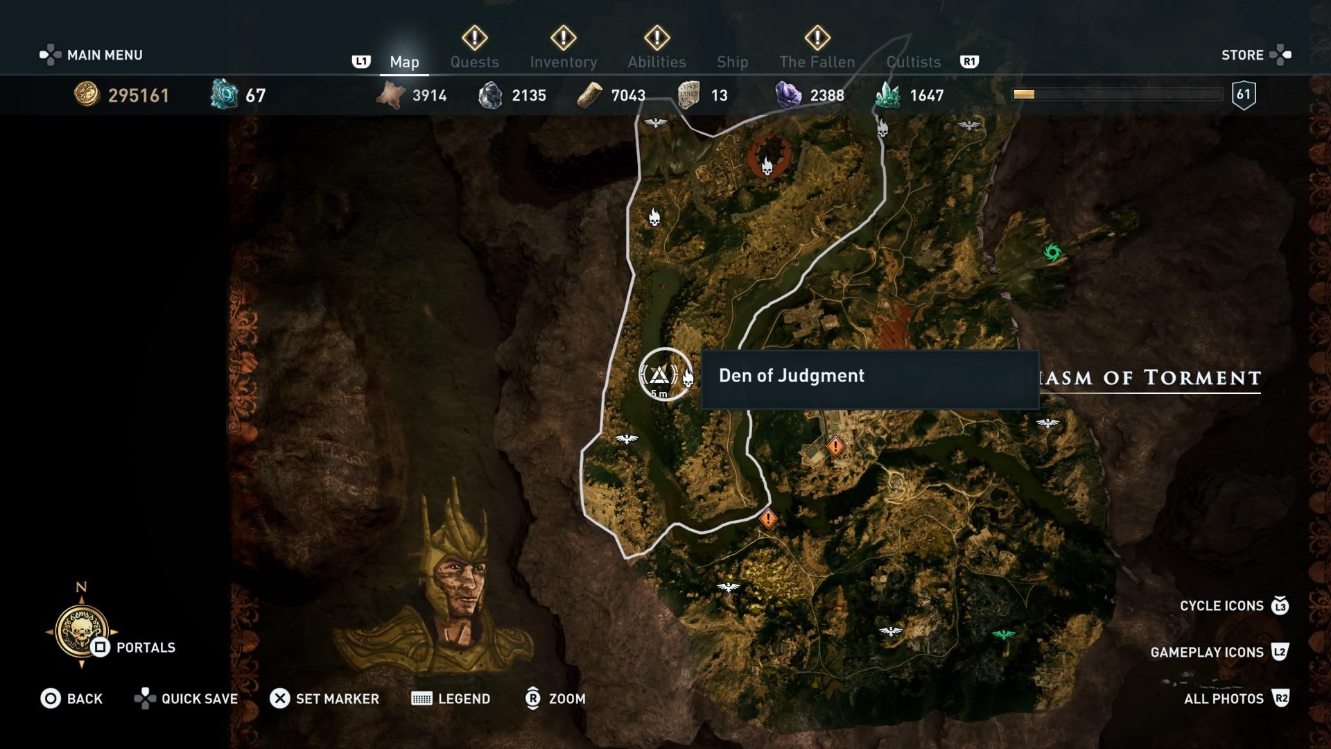 Assassins Creed Odyssey: guía de información del guardián: dónde encontrar todas las percepciones de Hermes 6
