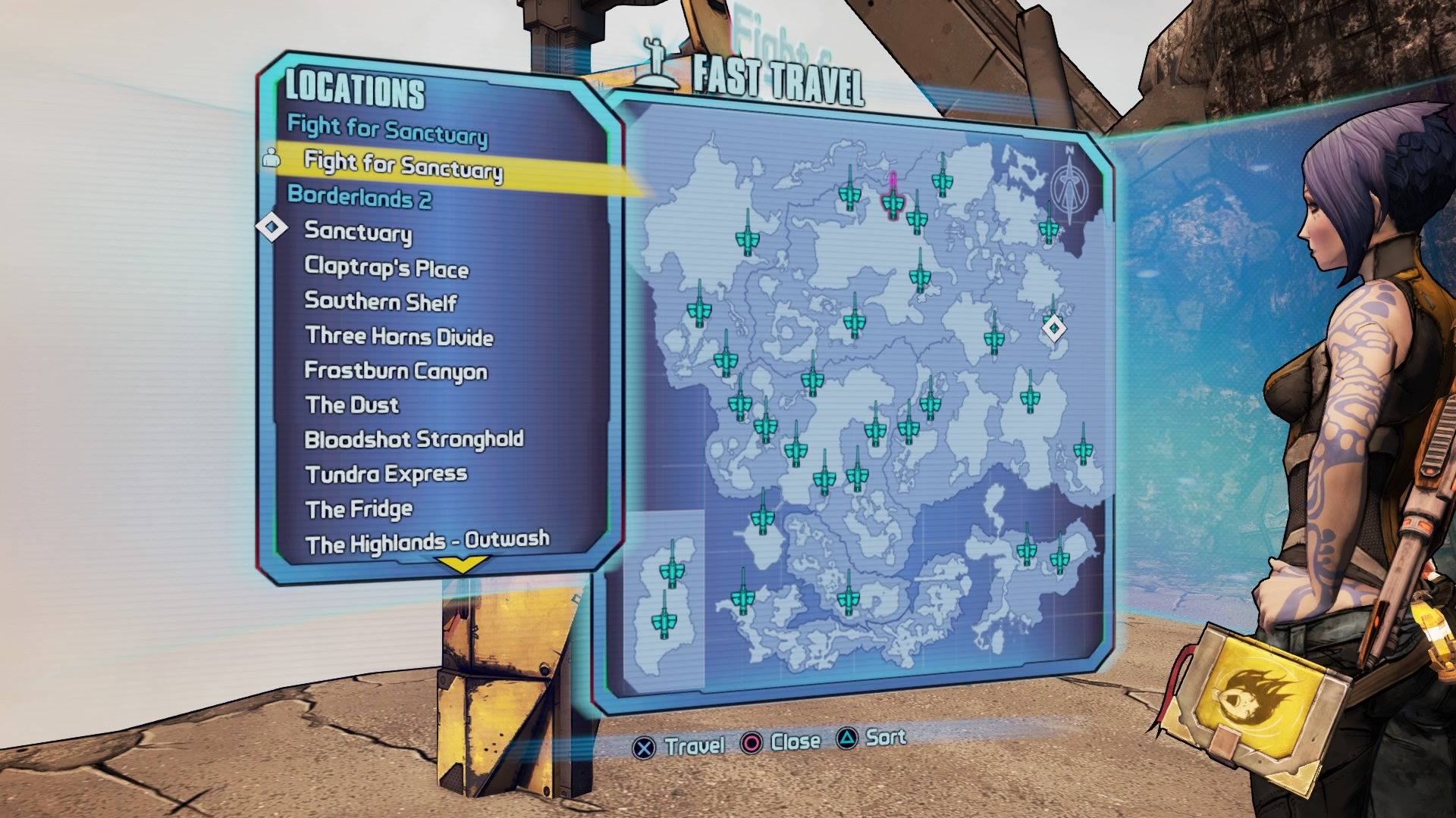 Borderlands 2: How to begin the Commander Lilith & the Fight