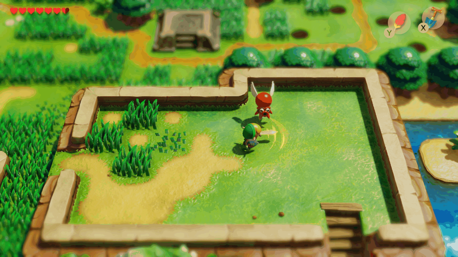 The Legend of Zelda: Link's Awakening – take a look at new changes in this gameplay video