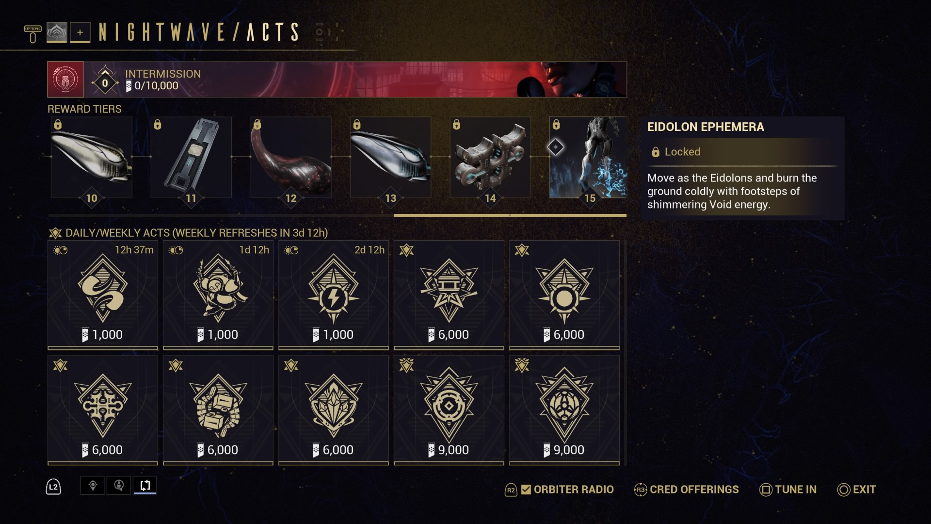 Warframe Nightwave: Intermission gives Tenno another chance at missed Series 1 rewards - VG247