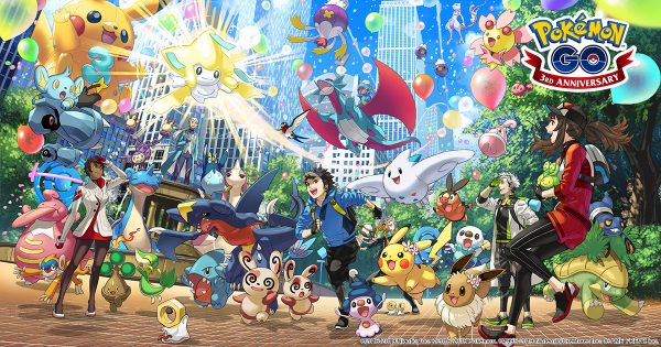 Pokemon Go Third Anniversary Event kicks off tomorrow, June 28