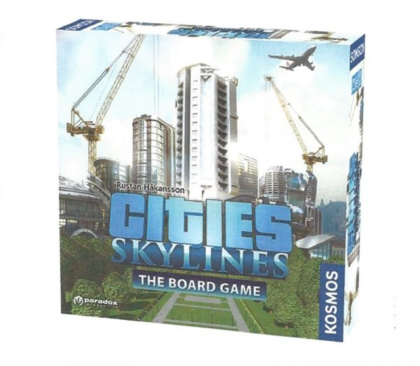 cities skylines board game tabletop