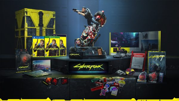 The Cyberpunk 2077 and Final Fantasy 7 Remake Collector's
