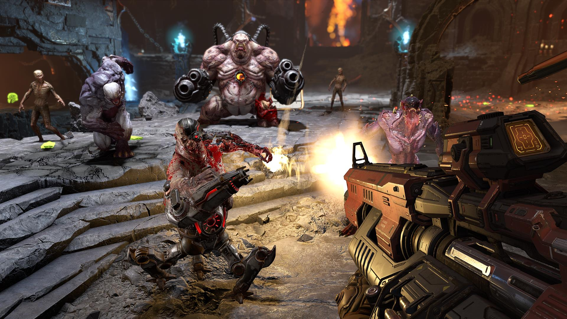 "Doom Eternal won't have a traditional deathmatch multiplayer mode, and the team is ""open"" to crossplay - VG247"