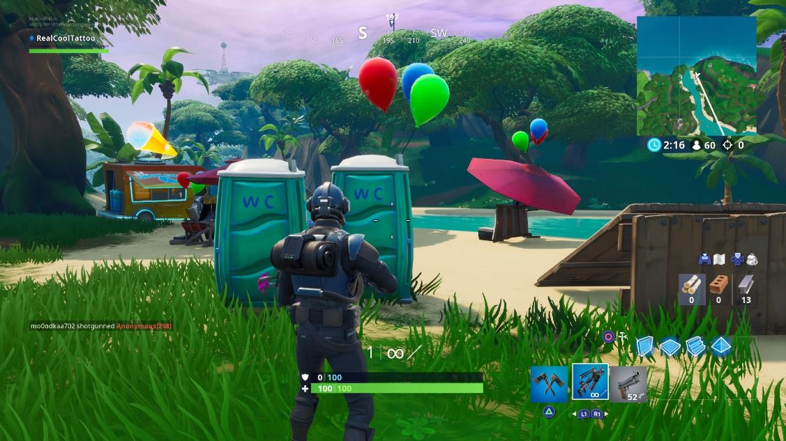, Fortnite: Pop party balloon decorations, AllYourGames.com, AllYourGames.com