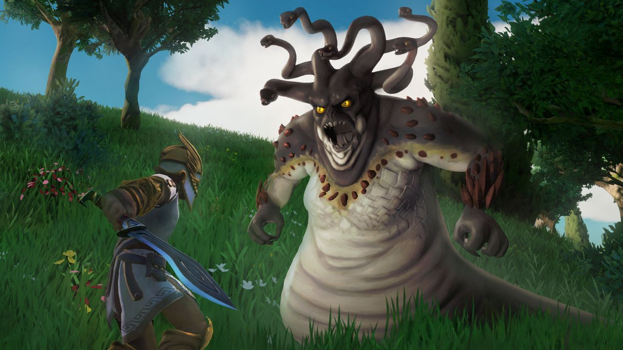 Gods and Monsters is an open-world action adventure full of
