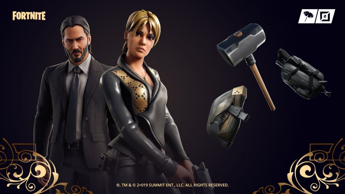 , Halle Berry's John Wick skin available in the Fortnite Item Shop, AllYourGames.com, AllYourGames.com