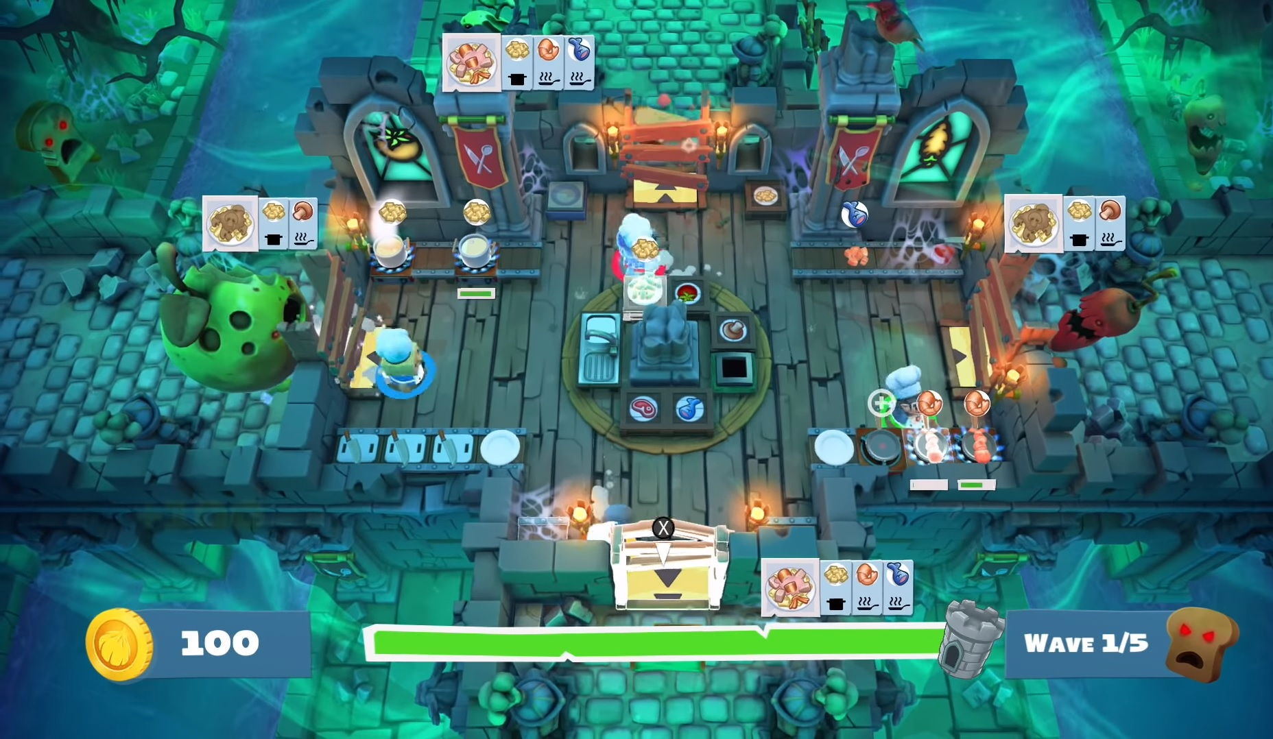 Fight the horde by feeding the horde in new Overcooked 2 DLC