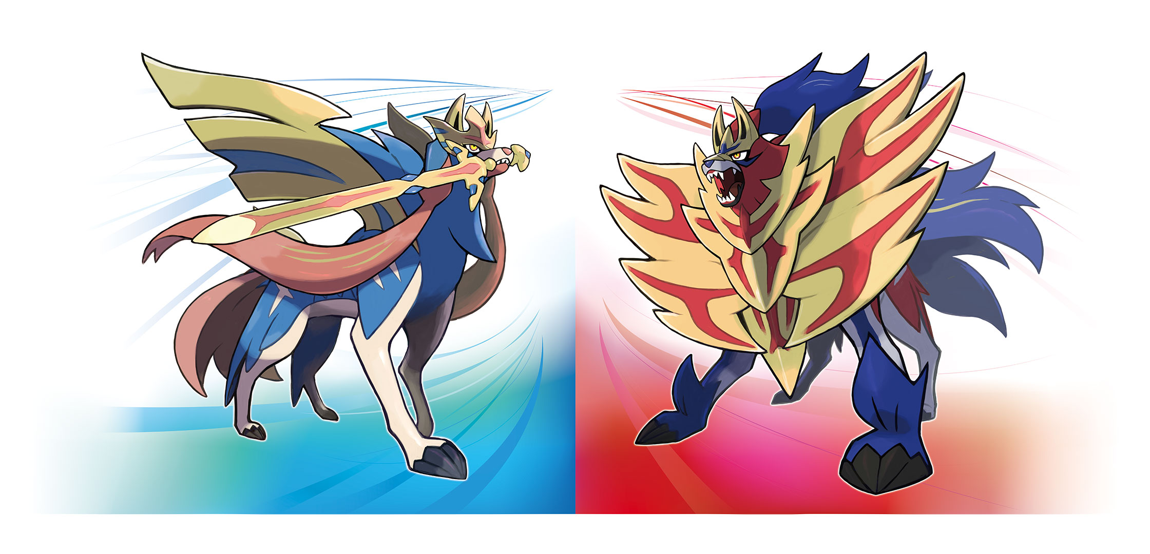 Pokemon Sword and Shield Legendaries: Zacian and Zamazenta are the