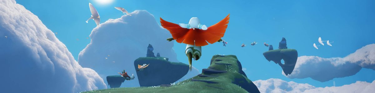 Jenova Chen's Sky: Children of Light MMO will get PS4, Switch crossplay