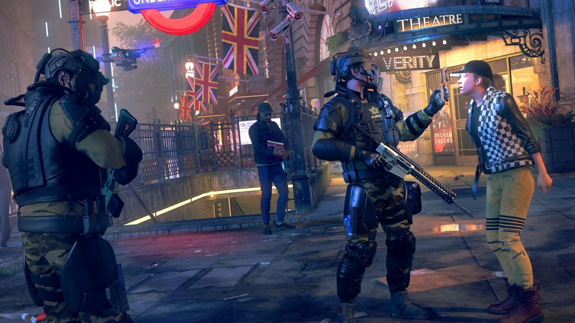 , Watch Dogs hits its stride with Legion's hundreds of playable characters, AllYourGames.com, AllYourGames.com