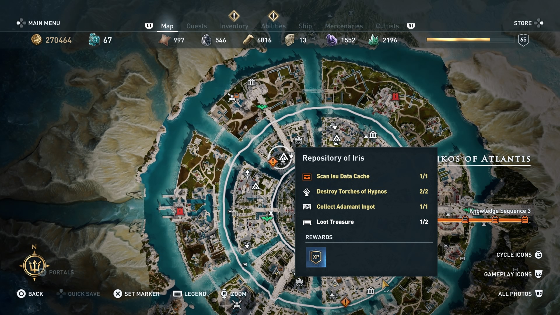 Assassin S Creed Odyssey Isu Knowledge Information Cache And