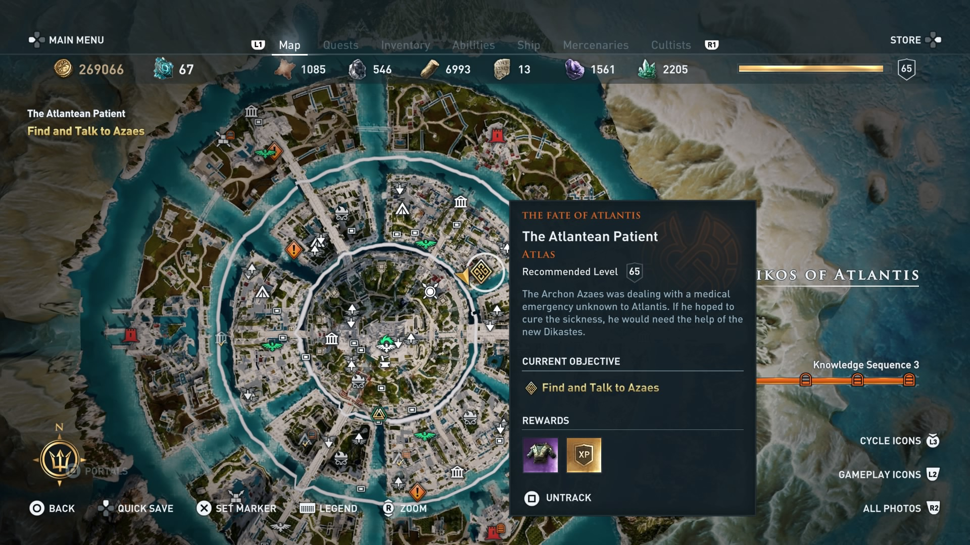 Assassin S Creed Odyssey Judgement Of Atlantis Choices And Ending Information