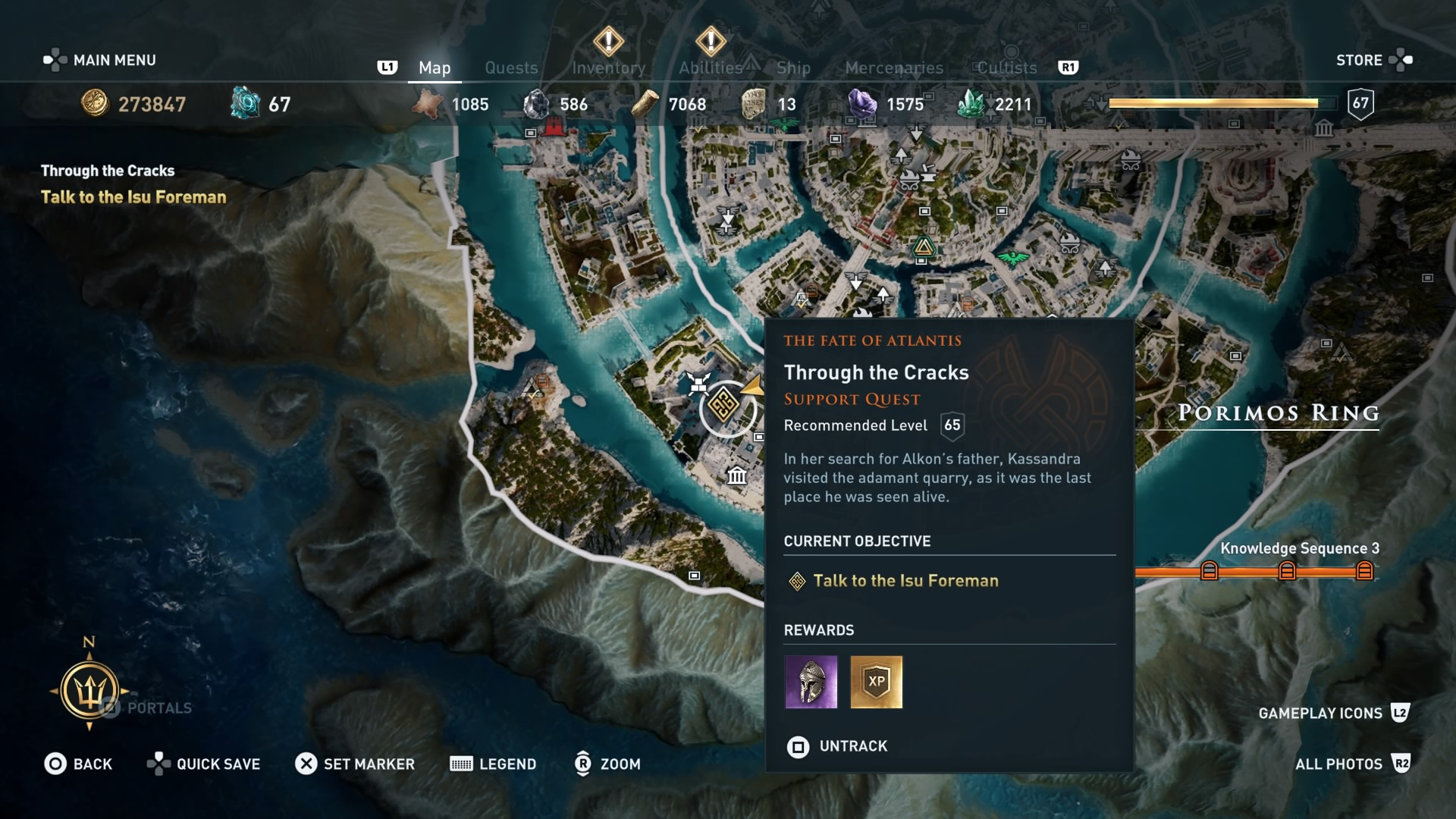 Assassin's Creed Odyssey Judgement of Atlantis Choices and