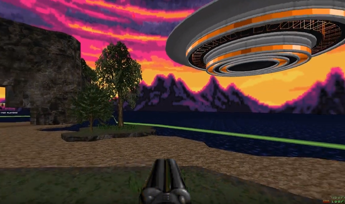 Ancient Aliens and rebirth: the most psychedelic Doom mods