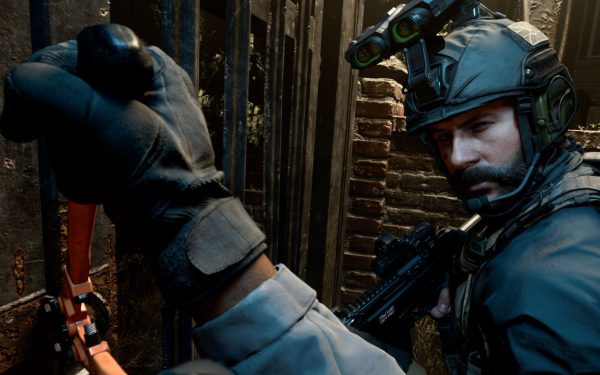 Weapon animations in Call of Duty: Modern Warfare were done by hand