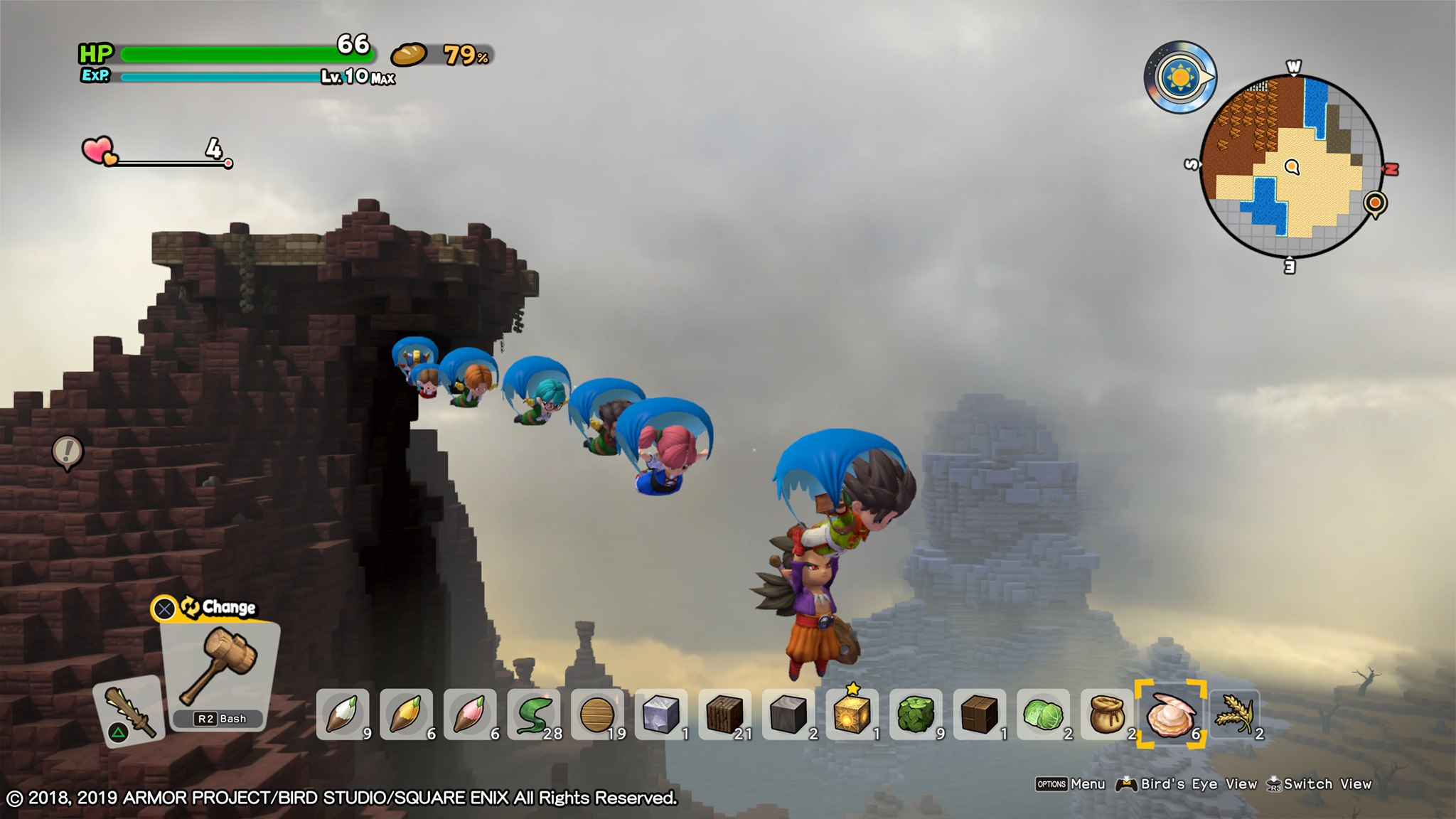Dragon Quest Builders 2 channels Dark Cloud as much as