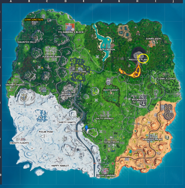 , Fortnite: Fortbyte 52 – Accessible with the Bot Spray inside a Robot Factory, AllYourGames.com, AllYourGames.com