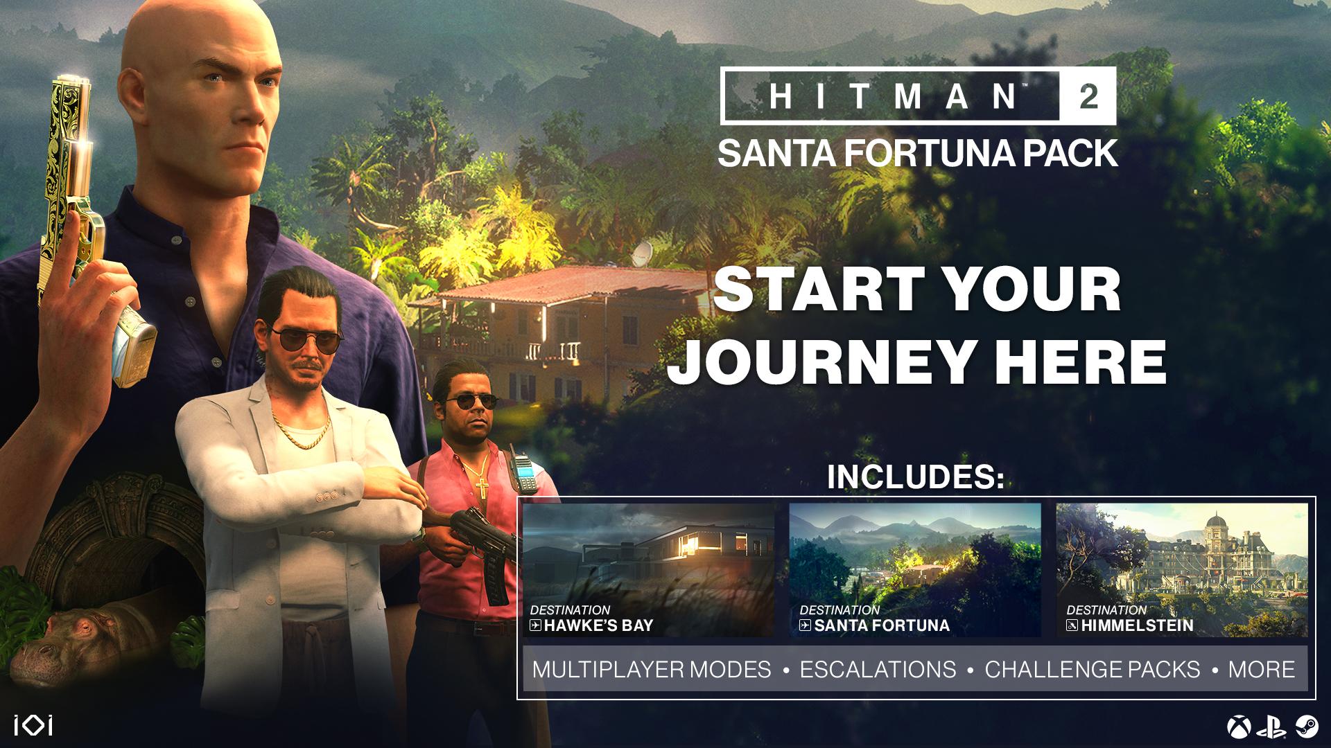 Hitman 2 Santa Fortuna Pack Gets You 2 Missions Sniper Assassin