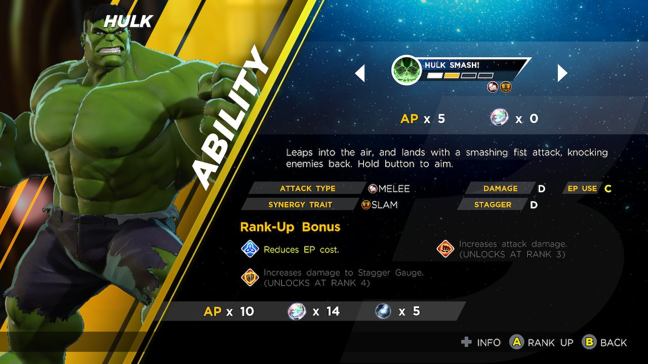 Marvel Ultimate Alliance 3 Synergy information – the way to