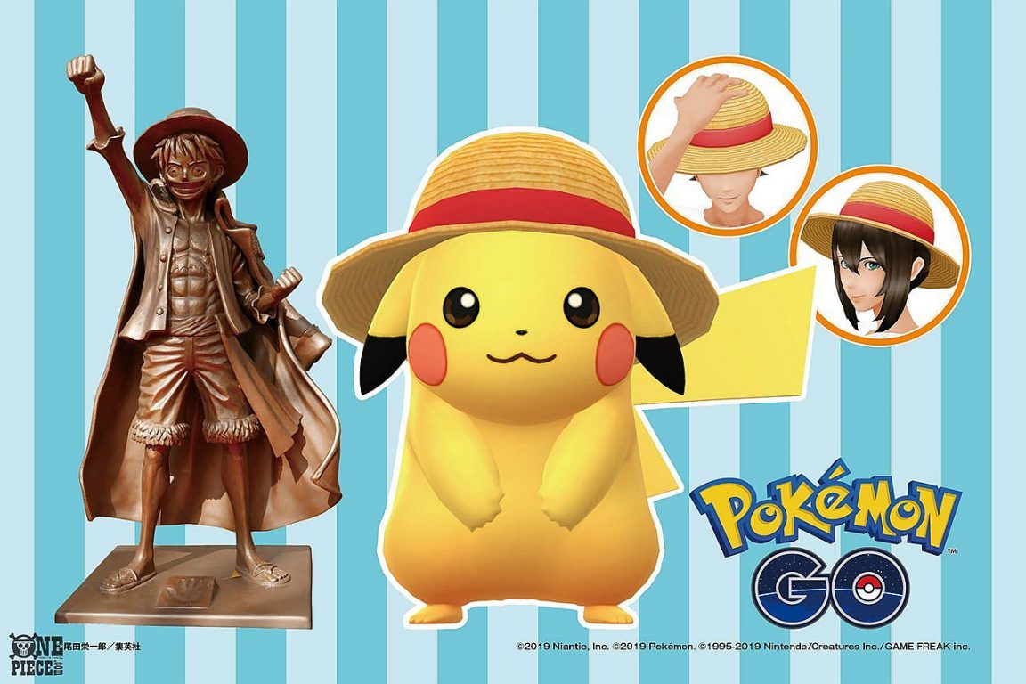 Pokemon Go collaboration with One Piece will earn you a special