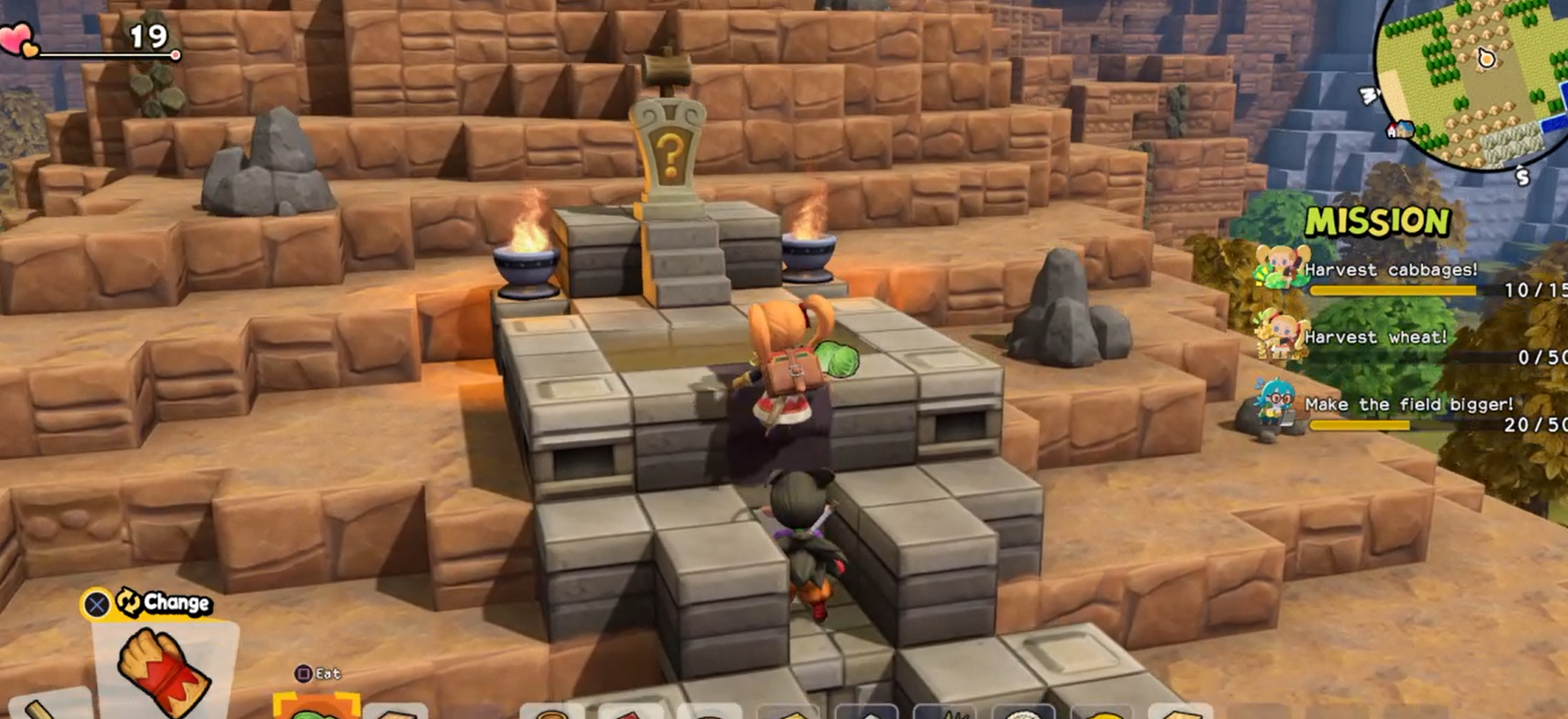 Dragon Quest Builders 2 - all 10 Furrowfield Shrine