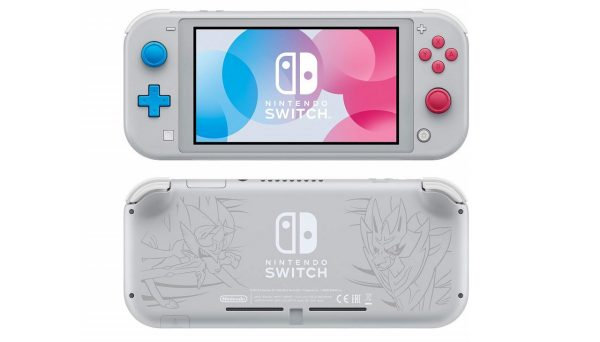 nintendo switch lite pre-order for the zacian and zamazenta edition